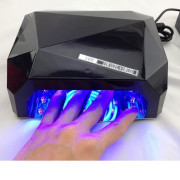 UV Lamp Nail Dryer with LED-Light 36 watt 220v - Schwarz