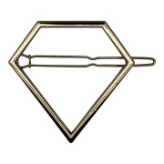 SOHO® Pyramid Metal Hair Clip, Haarspange - Gold