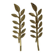 SOHO® Leaf Hair Clip, Haarspange - Gold