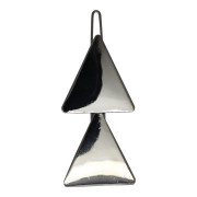 SOHO® Triangles Metal Hair Clip, Haarspange - Silber