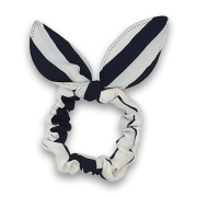 Scrunchie m. Bunny Ears - sailor stripes