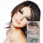 Hair Bling - Mix aus bunten Diamanten fürs Haar (10 Stck)