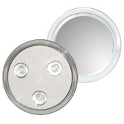 Uniq Makeup Mirror 10X Magnification with Suction - Weiss