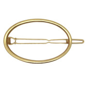 SOHO® Oval Circle Hair Clip, Haarspange - Gold