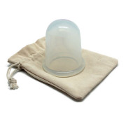 UNIQ® Cupping Massage  Schröpf-Cup XL, Anti Cellulite - Klar