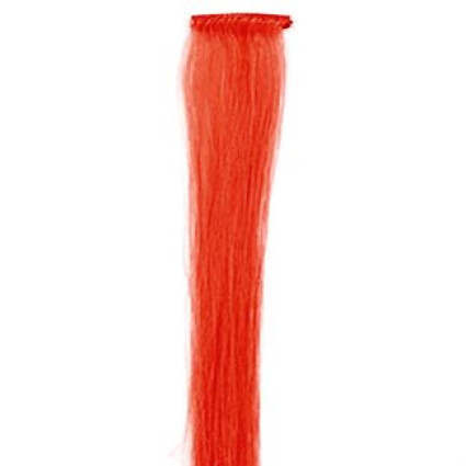 50 cm Rot Crazy Colour Clip In Extensions