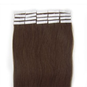 50 cm Tape On Extensions Klebetressen Braun 4#