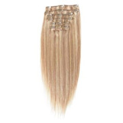 Clip In Extensions 50 cm #18/613 Blond Mix