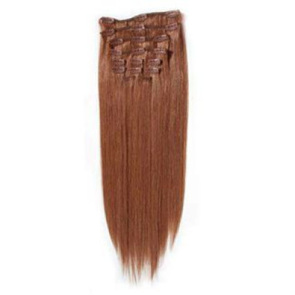 Clip in Extensions 40 cm #33 Rot