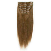 Clip In Extensions 40 cm #6 Hellbraun