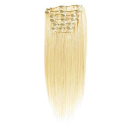Clip In Extensions 40 cm #613 Blond